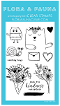 Animal Sending Love Stamp Set