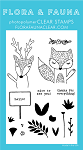 Fox and Deer Hello Stamp Set