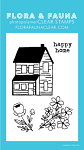 Mini Happy Home Stamp Set