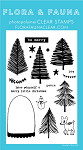 Bottle Brush Snowglobe Stamp Set