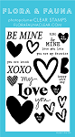 Be Mine Word Stamp Set