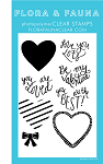 Love You Lots Cursive Stamp Set