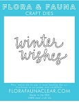 Winter Wishes Cursive Die