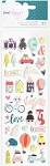 Lovely Day Mini Icons Puffy Stickers