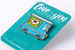 True to You Enamel Pin - Mail Truck
