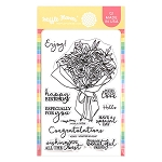 Wrapped Bouquet Stamp Set