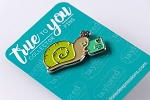 True to You Enamel Pin - Snail Mail