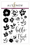 Flower Arrangement Stamp Set