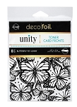 Deco Foil Toner Card Fronts Butterfly Fly Away