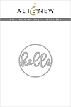 Circled Greetings: Hello Die