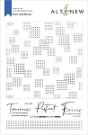Dots and Boxes Stamp Set