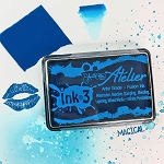 Atelier Peacock Blue Fusion Ink Pad