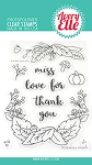 Fall Foliage Clear Stamps