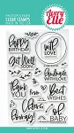 Everyday Circle Tags Stamp Set