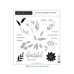 Botanical Turnabout Stamp Set