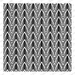 Dimensional Chevron Background Stamp