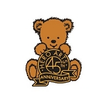 45th Anniversary Bear Enamel Pin