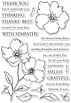Wild Rose Stem Stamp Set