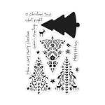 Color Layering Nordic Tree Stamp Set