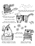 Snarky Cat Christmas Stamp Set