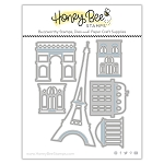 Paris Skyline Scene Builder Honey Cuts
