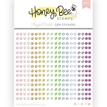 Playful Pastels Gem Stickers
