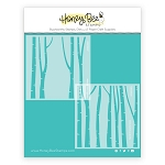 Layering Birch Trees Stencil Set