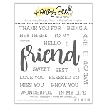 Friend Stamp Set
