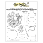 Farm Fresh Flowers Stamp Set