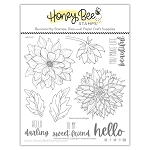 Darling Dahlias Stamp Set