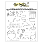 Treat Yo Self Stamp Set