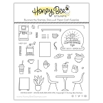 Coffee Shop House Builder Add-On Stamp Set