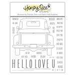 Big Pickup Tailgate Stamp Set