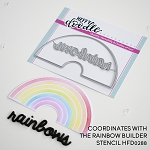 Rainbow Builder Die