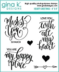 Hearty Greetings Stamp Set
