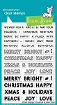 Offset Sayings: Christmas Stamp Set