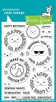 Reveal Wheel Circle Sentiments Stamp Set