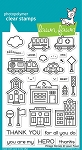Village Heroes Stamp Set
