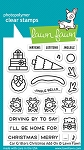 Car Critters Christmas Add-On Stamp Set