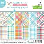 Perfectly Plaid Remix Petite 6X6 Paper Pack