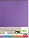 Textured Dot 8.5X11 Cardstock - Brights