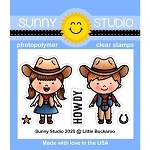 Little Buckaroo Stamp Set