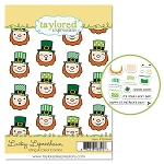 Lucky Leprechaun Cling & Clear Stamp Set