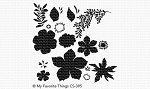 Tropical Flowers Stamp Set