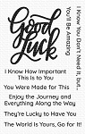 Good Luck Greetings Stamp Set