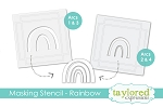 Masking Stencils - Make a Rainbow