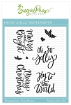 Oh So Jolly Sentiments Stamp Set