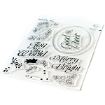Merry and Bright Frame Stamp Set
