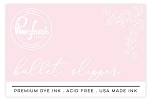 Ballet Slipper Ink Pad