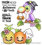 Toucan Halloween Stamp Set